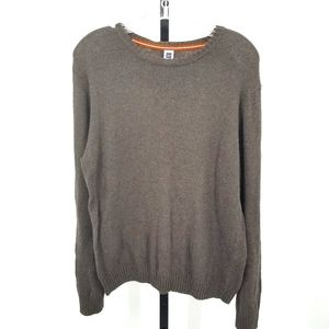 Gap Wool Blend Knit Brown Boyfriend Sweater